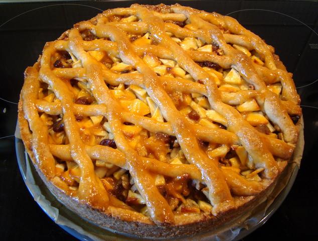 Apfel Gitterkuchen Mit Dinkelmurbteig Brotbackforum Die